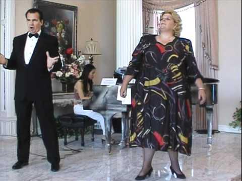 "Judy Moore Dramatic Soprano & Robert Toda Duet from ""Nabucco"""