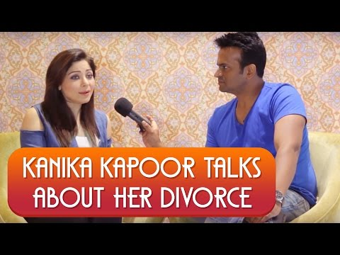 Singer Kanika Kapoor gets Emotional & Finally Talks About Her DIVORCE !