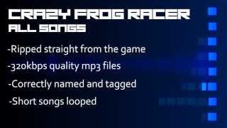 Crazy Frog Racer (PC) All Songs 320kbps mp3