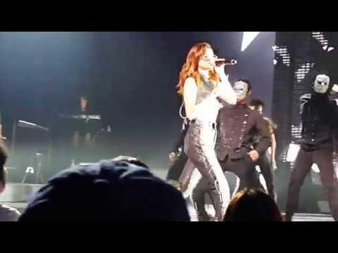 Selena Gomez - Same Old Love - Revival Tour intro in TOKYO 2016.august.2