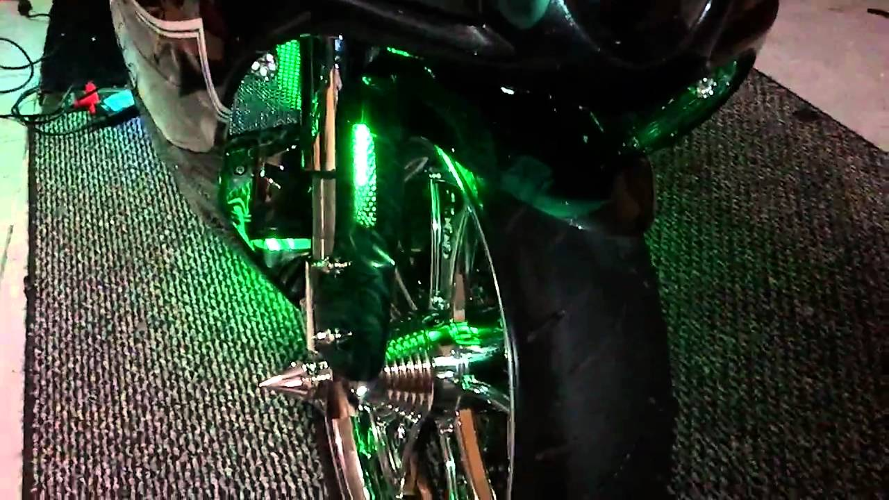 Hayabusa front fender trick by Motorcycle Boutique
