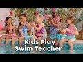 BABY born | Kids Play Swim Teacher