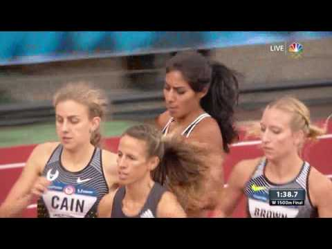 Thumbnail: Olympic Track And Field Trials | Photo Finish In Women's 1,500-Meter
