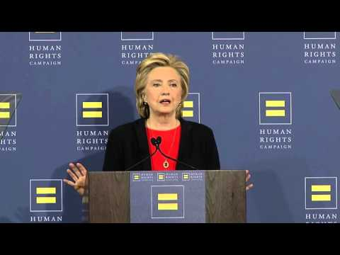 Hillary Clinton Speaks to HRC