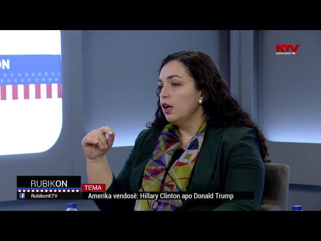 Rubikon - Amerika vendos   Hillary Clinton apo Donald Trump  08 11 2016