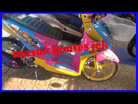 Mantap Honda Beat Thailook Otre Style kang asep