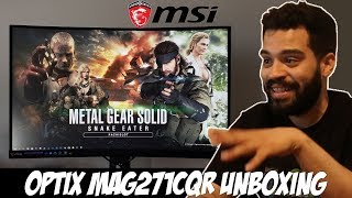 Msi Optix Mag321Cqr Curved Monitor - Psnworld