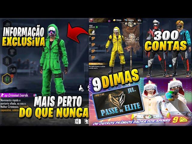 BOMBA! INFORMAÇÃO DA VOLTA DO TOP CRIMINAL VERDE! PASSE POR 9 DIAMANTES, BANDEIRÃO E ANGELICAL AZUL