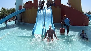 Double Kingdom Water Slide at Dolphin Water World