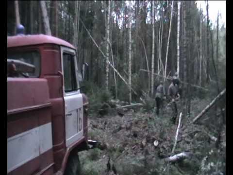 Пожар в Нижегородской области. Ковернинский район.