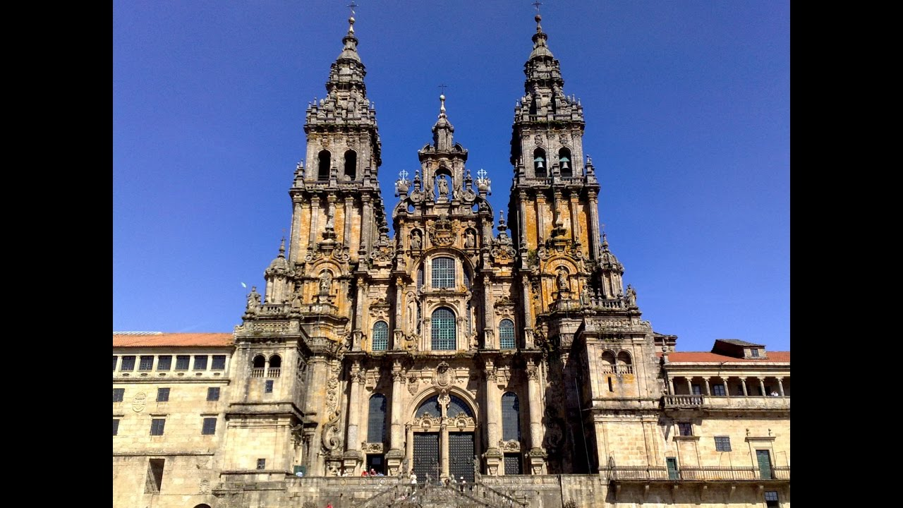 Santiago de Compostela Cathedral, Galicia, Spain, Europe - YouTube