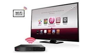LG BP340 Blu-Ray Disc Player with Internet Application
