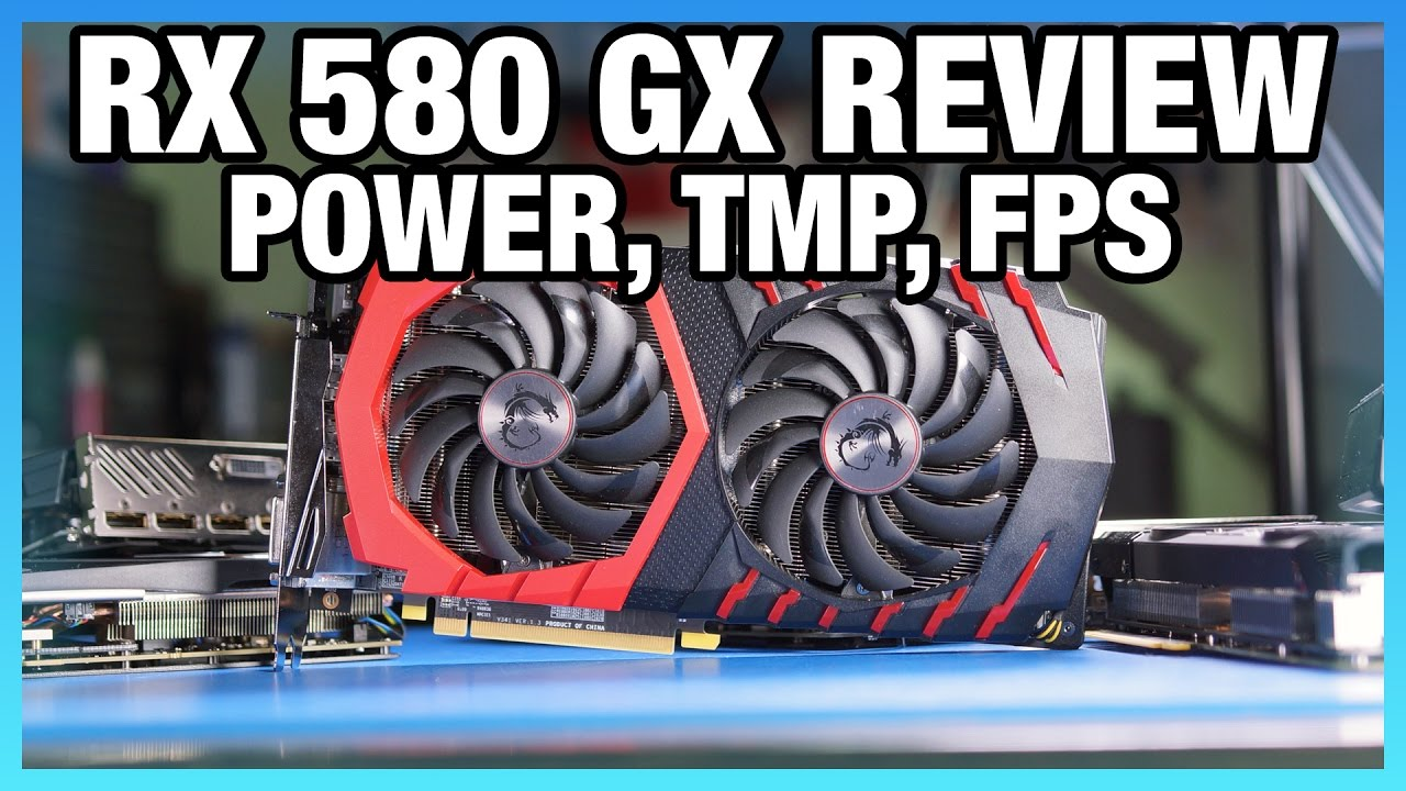 MSI RX 580 Gaming X Review vs  GTX 1060: FPS, Power, Thermals