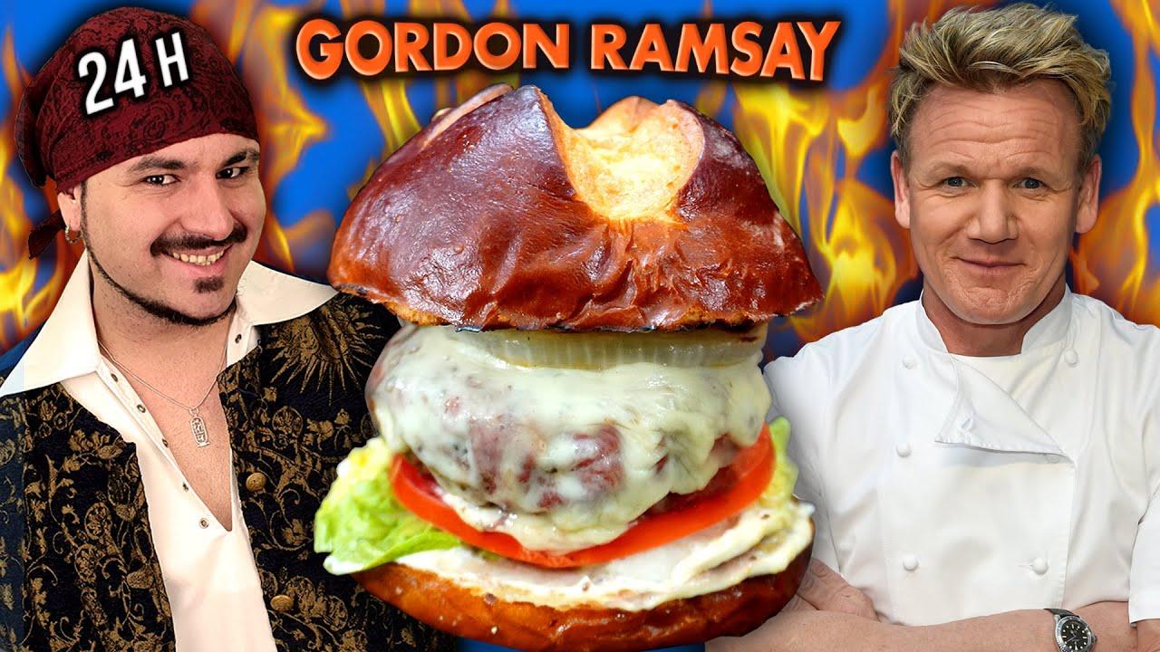 24 horas COCINANDO RECETAS GORDON RAMSAY 🔥