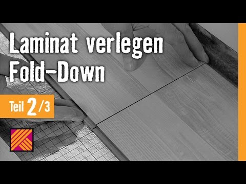 version 2013 laminat verlegen fold down anleitung kapitel 2 dielen verlegen youtube. Black Bedroom Furniture Sets. Home Design Ideas