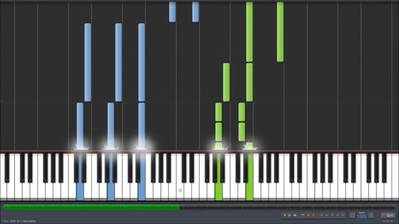 Renesmee's Lullaby Piano Tutorial - Twilight Week Day Five