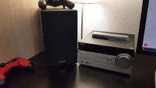 Краткий обзор Sony CMT-SX7. Micro музыкальный центр с аудио высокого разрешения.