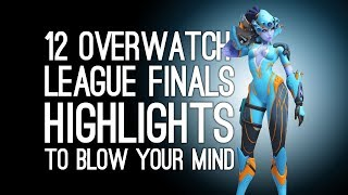 12 Overwatch League Finals Highlights That Will Blow Your Mind