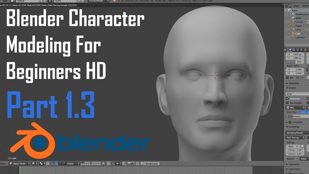 Character Modeling Blender Pdf : Blender modeling character for beginners the human