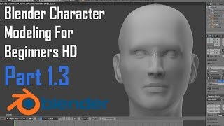 Blender Modeling | Character | For Beginners | The Human Head - Part 1