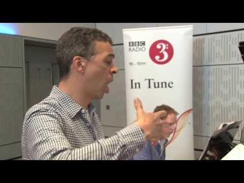 Roderick Williams sings Britten's Tom Bowling live on Radio 3's In Tune