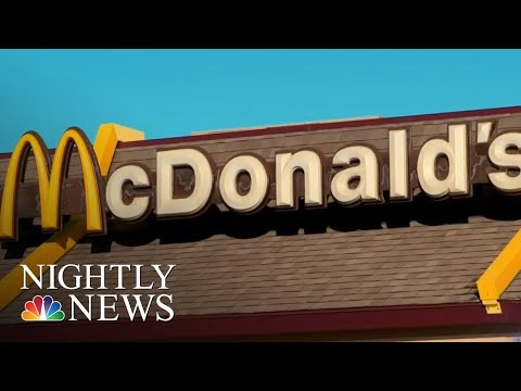 McDonald's Under Pressure To Ban Plastic Straws | NBC Nightly News