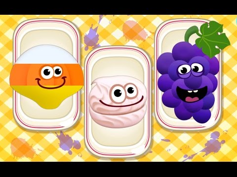 Thumbnail: Fun Baby Learn Colors, Numbers, Shapes with Foods | Kids Baby Toddler Educational Games