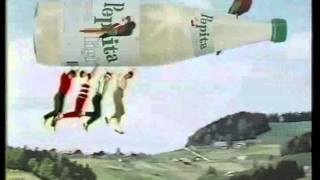 Pepita Light Werbefilm aus dem Jahr 1985 - fliegende Flasche
