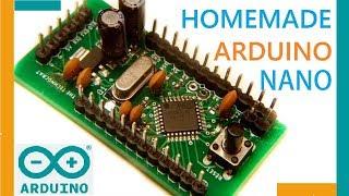 جعل اردوينو نانو | كيفية حرق محمل على ATMEGA328P-AU(SMD)