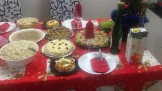 Новогодний СТОЛ/наряд/подарок/и 1 ЯНВАРЯ