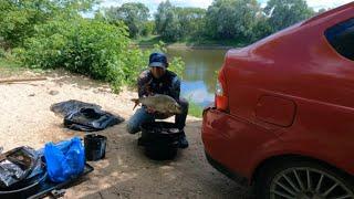 Рыбалка на фидер Ловля Леща на реке фидером