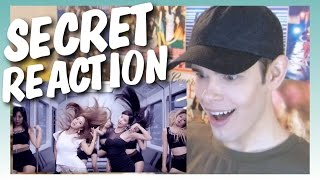 MV Reaction l 유리 X 서현_Secret
