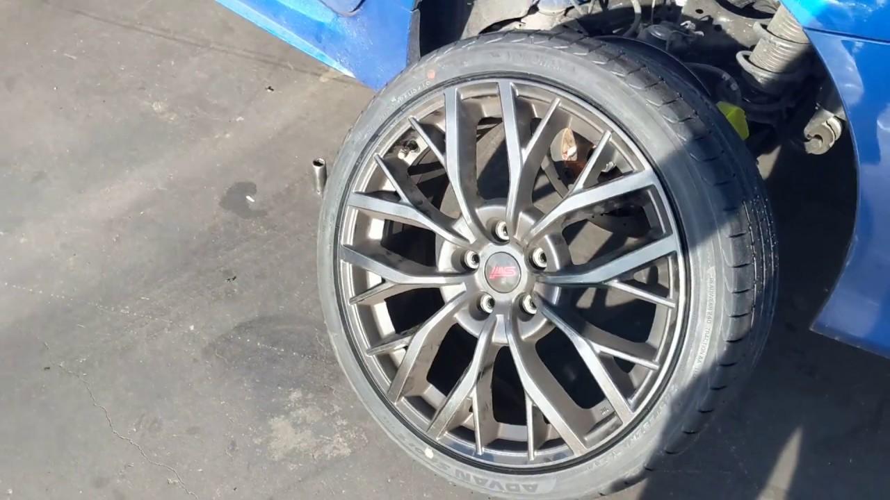2018 wrx sti 19 inch wheels cut sidewall no tpms violent pulling shame  shame subaru australia tpms!