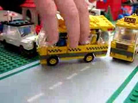 Legotown Taxis - A Tyler Lego Town Tour - March 2008 Custom Taxi