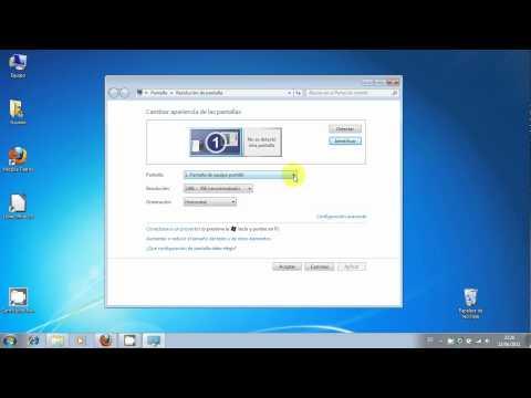 Configurar la resolucion de pantalla