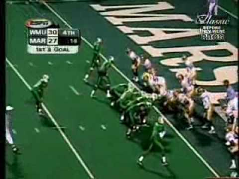 Marshall vs Western Michigan - 1999 - Final Drive (Chad Pennington)