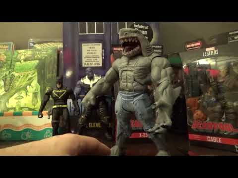 Action Figure Review of Cable, X-23, King Shark.  Also updates on Coke Rewards & Upperdeck Epack.
