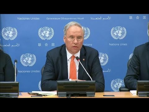 Karel van Oosterom (Netherlands) on the work of the Security Council-Press Conference (1 March 2018)
