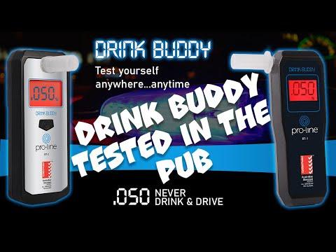 Beer Proline Drink Buddy BT-01 Breathalyser Brewing Home Brew All Grain