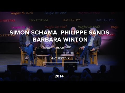 Simon Schama, Philippe Sands, Barbara Winton