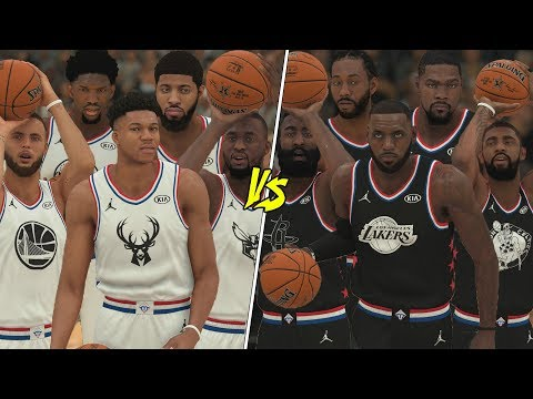2019 NBA All Star Game In NBA 2K19!
