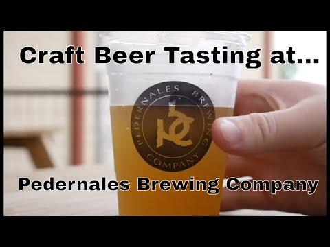 Pedernales Brewing Co. Craft Beer Tasting
