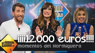 Chenoa, el talismán de la suerte que ha conseguido repartir 12.000 euros - El Hormiguero 3.0