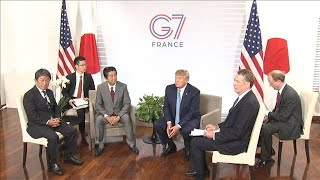 日米貿易交渉 自動車関税の撤廃は先送り(19/08/26)