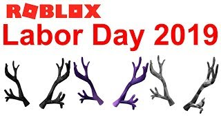 Will Antlers come on Roblox Labor Day Sale 2019