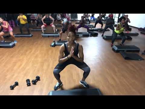 LIVE 52 Minute Cardio & Weights INTENSE Workout