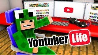 WHO CAN GET 1 MILLION SUBSCRIBERS?! Minecraft YouTuber Life