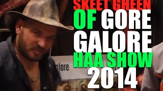 Skeet Gheen Of Gore Galore | HAA Show Transworld 2014