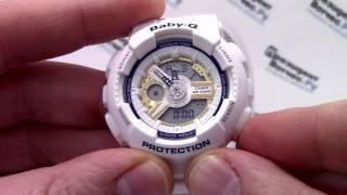 Годинник Casio Baby-G LOV-16A-7A - Інструкція, як налаштувати від PresidentWatches.Ru