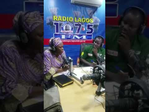 Yemisi Haleemat Busari at Radio Lagos 107.5 FM